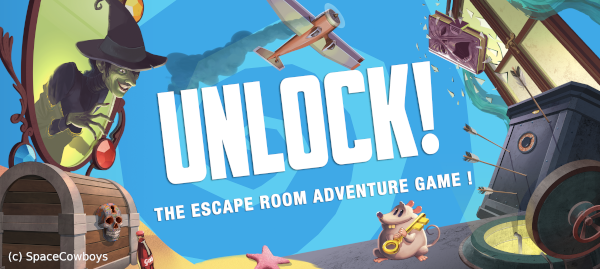 Unlock, un jeu d'escape game à base de cartes